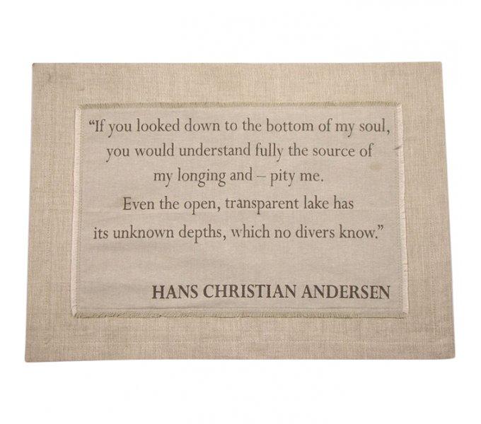 Dækkeserviet H.C. Andersen